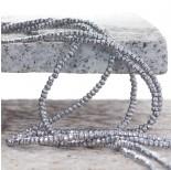 Zdjęcie - Hematyt oponka fasetowana koloru srebrnego