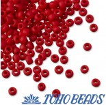 Zdjęcie - Koraliki TOHO Round Opaque-Frosted Pepper Red