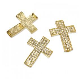 Zdjęcie - Krzyż z kryształkami