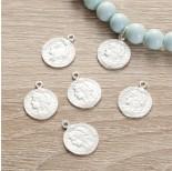 Zdjęcie - Srebrna zawieszka monetka, Ag925