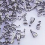 Zdjęcie - Krawatka ozdobna zawijana ze stali chirurgicznej srebrny