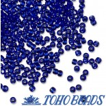 Zdjęcie - Koraliki TOHO Round Transparent Cobalt
