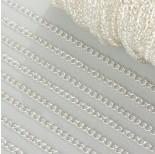 Zdjęcie - Łańcuszek simple duże oczka w srebrnym kolorze