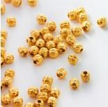 Zdjęcie - Srebrne kulki ozobne złocone AG925