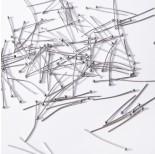 Zdjęcie - Szpilki z okrągłą główką ze stali chirurgicznej