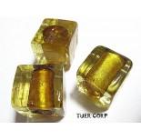 Zdjęcie - Szkło weneckie kostka złota