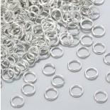Zdjęcie - Kółeczka zaciskowe w kolorze srebrnym