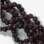 Zdjęcie - Jadeit marmurkowy kulka fasetowana brązowy