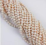 Zdjęcie - Naszyjnik z pereł naturalnych białych