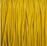 Zdjęcie - Sznurek bawełniany woskowany żółty