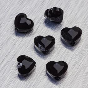 Zdjęcie - 5741 Swarovski love bead Jet
