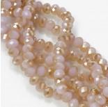 Zdjęcie - Kryształki oponki pink half golden