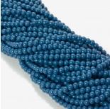 Zdjęcie - Koraliki szklane powlekane modre