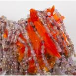 Zdjęcie - Kryształ górski truskawkowy kulka fasetowana