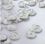 Zdjęcie - Zawieszka metalowa moneta z cezarem