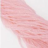 Zdjęcie - Kryształki kulki fasetowane pink opal