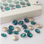 Zdjęcie - Kryształy Rhinnes flat diamond emerald