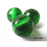 Zdjęcie - Szkło weneckie kulka zielona