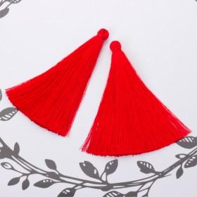 Zdjęcie - Chwost z wiskozy czerwony