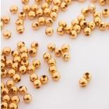 Zdjęcie - Kulki ze stali chirurgicznej w kolorze złotym
