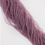 Zdjęcie - Kocie oko kulka fasetowana fioletowa