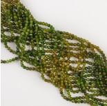 Zdjęcie - Zielony turmalin kulka fasetowana