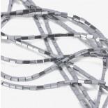Zdjęcie - Hematyt czworokąt platerowany srebrny
