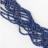 Zdjęcie - Lapis lazuli dysk fasetowany