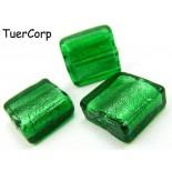 Zdjęcie - Szkło weneckie kwadrat zielony