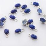 Zdjęcie - Lapis lazuli owal w okuciu zawieszka AG925