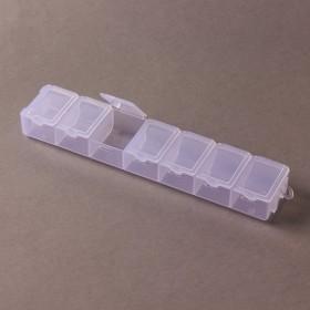Zdjęcie - Pudełko do koralików 7 przegródek