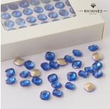 Zdjęcie - Kryształy Rhinnes diamond cut blue topaz