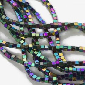 Zdjęcie - Hematyt kostka multicolor