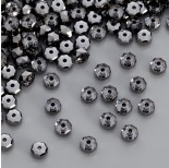 Zdjęcie - 5045 rondelle bead, SWAROVSKI, silver night
