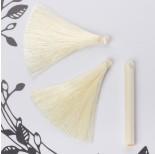Zdjęcie - Chwost z wiskozy waniliowy