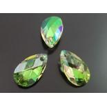 Zdjęcie - 6106 almond pendant SWAROVSKI luminous green