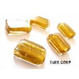 Zdjęcie - Szkło weneckie prostokąt złoty