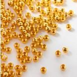 Zdjęcie - Kulki ze stali chirurgicznej w kolorze light gold