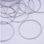 Zdjęcie - Baza geometryczna ze stali chirurgicznej koło srebrny
