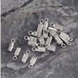 Zdjęcie - Srebrne zaciski do rzemieni, próba Ag925