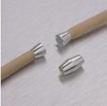 Zdjęcie - Zapięcie magnetyczne cygaro w kolorze srebrnym