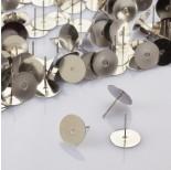 Zdjęcie - Sztyfty z talerzykiem do naklejania ze stali chirurgicznej