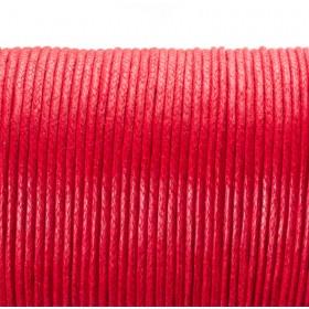 Zdjęcie - Sznurek bawełniany woskowany arbuzowy