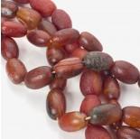 Zdjęcie - Agat antyczny oliwka bursztynowa