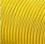 Zdjęcie - Sznurek do sutaszu acetatowy 3mm żółty SZPULA