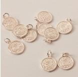 Zdjęcie - Srebrna zawieszka moneta ag925