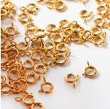Zdjęcie - Federing ze stali chirurgicznej w kolorze złotym