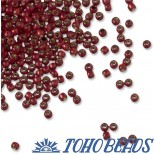 Zdjęcie - Koraliki TOHO Round Silver-Lined Milky Pomegranate