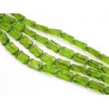 Zdjęcie - Prostokąty szklane ścinane jasna zieleń