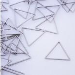 Zdjęcie - Baza geometryczna ze stali chirurgicznej trójkąt srebrny